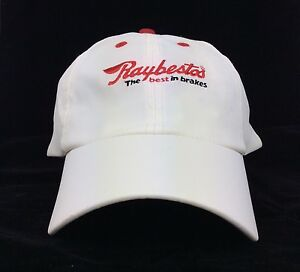 Raybestos The Best In Brakes Logo Baseball Cap Hat Light Cream Color