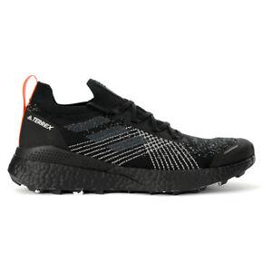 Adidas Men's Terrex Two Ultra Parley Core Black/Grey Three/Blue Spirit Trail ...