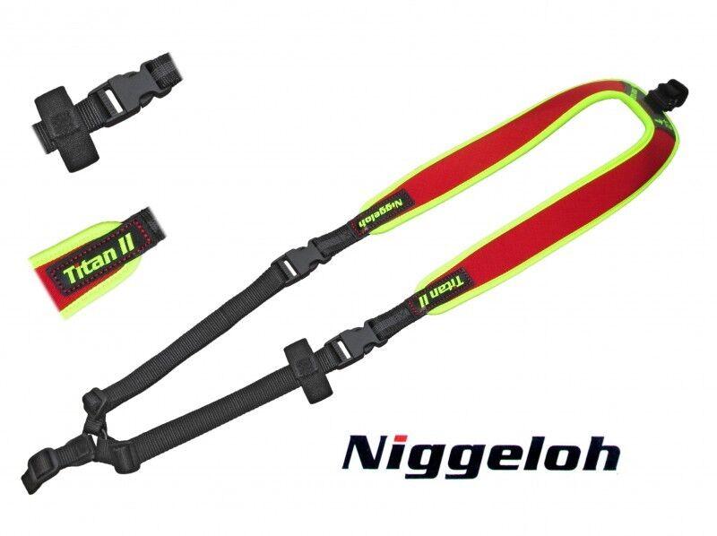 Niggeloh Rucksack Gewehrgurt Titan Titan Titan II TRAIL Signal gelb Orange schwarz NEU 52f7b1