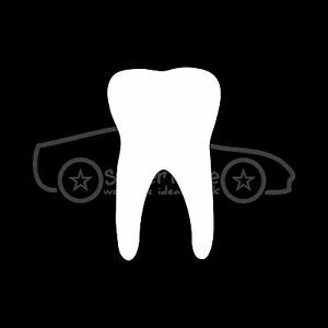 TOOTH-Sticker-Decal-Teeth-Dentist-Dental-Smile-Cavity-Root-Canal-Brush-Paste