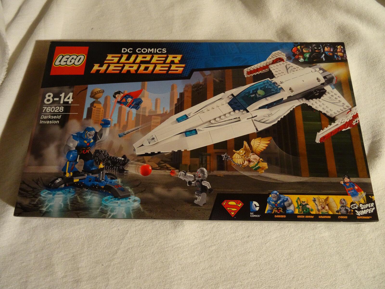 Lego Super Heroes, 76028, Superman, Darksides Überfall NEU OVP NEW