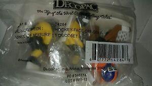 Hockey Goalie Face Off Boys Decopac Cake Topper Kit Set Ebay