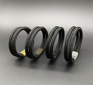 Segeltau-Armband-BRANDNEU-Surfer-Style-Magnetverschluss-Handmade-Herren-Frauen
