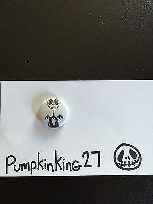 "Jack skellington Nightmare Before Christmas  1"" pin button artist edition"
