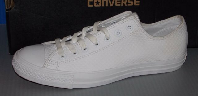 Converse CTAS II Ox Chuck Taylor All Star 153116c White Mens Ct as 8 ... 1009cede1