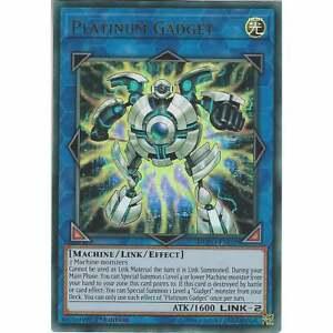 Platinum Gadget Dupo-en039 - Ultra Rare Card - 1st Edition - Yu-gi-oh Duel Power