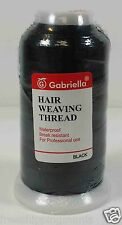Gabriella Nylon Hair Extentions Weaving Weft Salon Professional Thread 3lots