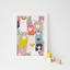 Cute-Animal-Print-Picture-for-Nursery-Childs-Kids-Children-039-s-bedroom miniature 1