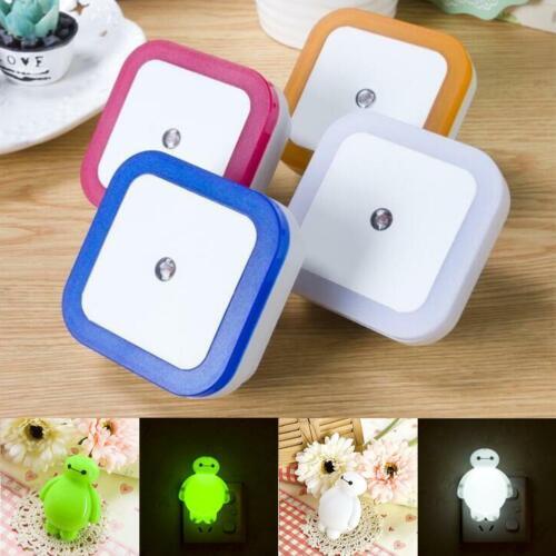 LED Sensor Light LED Night Light with Automatic Dusk to Dawn Light Blue BG
