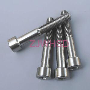 4pcs M5 x 8 mm Titanium Ti Screw Bolt Allen Hex Socket Cap Head Aerospace Grade