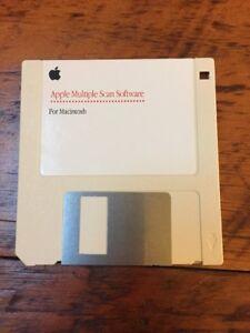 Vintage-1994-Mac-Multiple-Scan-Software-Macintosh-3-5-034-Floppy-Disk-Disc