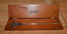 Starrett No 448 12 Machinist Vernier Depth Gauge Gage Inspection Tool 0 12 Inch