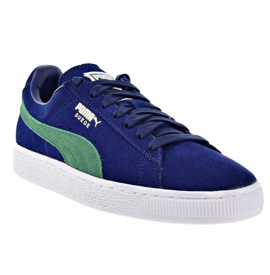 PUMA Mens Suede Classic Sneaker bluee Depths