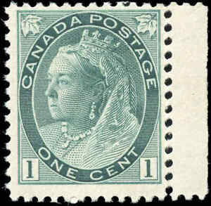 1898-Mint-NH-Canada-F-Scott-75-1c-Queen-Victoria-Numeral-Issue-Stamp