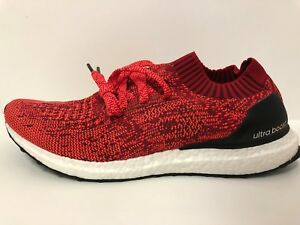 b220a3018d5d0 Image is loading Adidas-UltraBOOST-Uncaged-m-Scarlet-Red-Solar-BB3899-