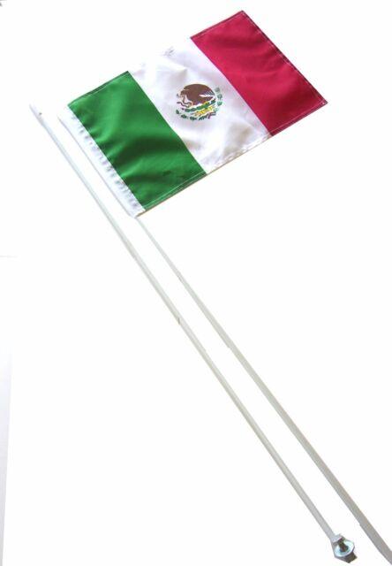 SUZUKI HONDA KAWASAKI YAMAHA POLARIS  7/' ATV WHIP FLAG GLAMIS MEXICO FLAG