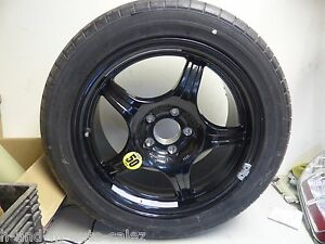 Oem 99 02 mercedes benz sl class full size spare tire r129 for Mercedes benz tire sizes