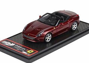 Ferrari California T Salon de l'Auto de Genève 2014 Rouge Bbrc139 1/43 350 Pcs Resins