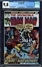 IRON MAN #55 CGC 9.8 WHITE PAGES 1ST APP OF THANOS CGC #1160111015