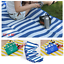 thumbnail 2 - BEACH MAT Sand Free Outdoor Blanket Camping Picnic Foldable Blanket