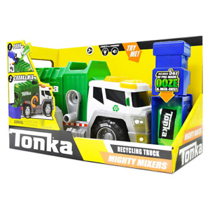 Tonka Might Mixers Recycling Truck NEW