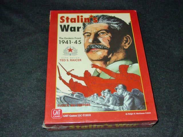 GMT Games 2010 - STALIN'S WAR - The Eastern Front 1941-1945 (SEALED)