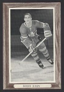 1964-67-Beehive-Group-III-Toronto-Maple-Leafs-Photos-153B-Bob-Baun-No-number