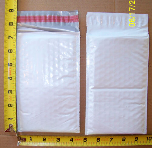 50 #000 4x8 HEFTY ARMOR-LITE Poly Bubble Shipping Mailers Envelopes USA