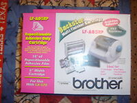 Sealed Brother Backster Multi Finisher Cartridge Lf-a05rp For Use W/ Lx-570