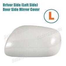 Unpaint Driver Left Side Door Mirror Cover For 2007-2011 Toyota Yaris Sedan