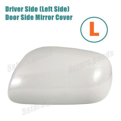 Unpaint Driver Left Side Door Mirror Cover For 2004-2009 Toyota Prius Hatchback