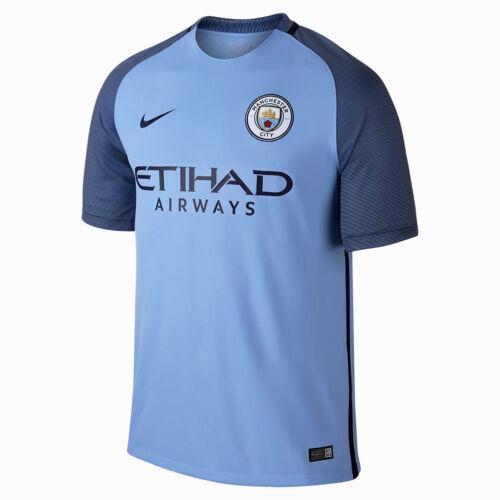 hombres azul Nike 776907 Camiseta camiseta de marino City de de local Manchester los Stadium 489 nuevos Uvqw6v1x