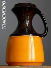 "10"" Vintage 60-70's STEULER Keramik 315/25 Vase West German Pottery Fat Lava Era"