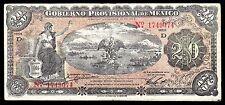 Veracruz, Gobierno Prov. de Mexico 20 Pesos O/P YUCATAN M3976h, VF+