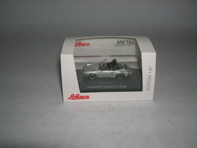 Neu Silber Schuco 26351-1//87 Porsche 911 Carrera 3.2 Targa