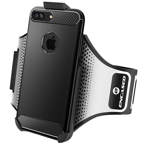 new concept 3a878 03048 Workout Armband for Spigen Rugged Armor Case iPhone 7 Plus 5.5 Sweat  Resistant B