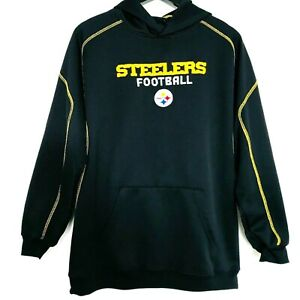 separation shoes f9131 49a53 PITTSBURGH STEELERS Hoodie XL Youth 18 20 REEBOK Sweatshirt ...