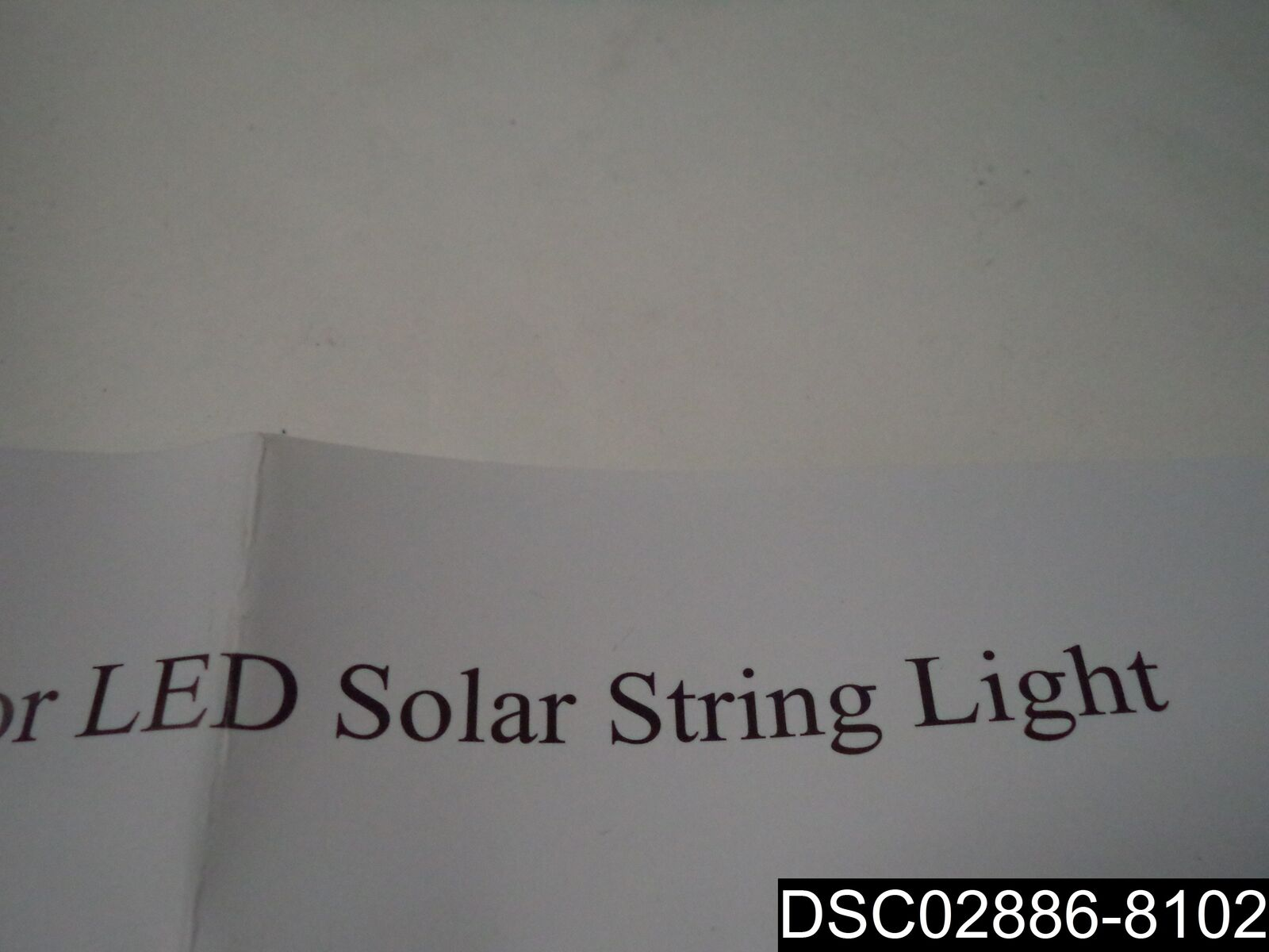 Solar Patio Patio Patio Outdoor Umbrella LED String Lights Cool Weiß 07USL005-5AL30-CLW 63afc8