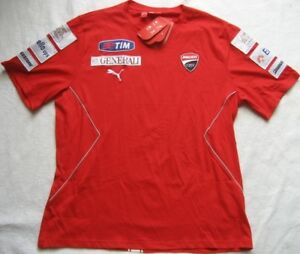 Team Courtes Hommes Tee shirt Jersey Rouge XL Rosso Manches Gr T Puma Corsa Dukati q1wPBSPI