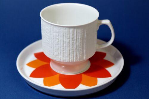 Thomas Arcta  Kaffeetasse 2tlg  BORKENRAND orange !!!!!!!!!!! !!!!!!!!!!
