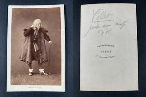 Pesme, Paris, Vollet, comédien dans La poule aux œufs d'or Vintage cdv albu