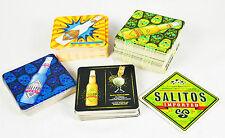 Salitos Bier, 100 x Bierdeckel, 5 verschiedene Logos, Hauptseite Salitos grün