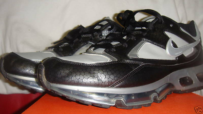 USED NIKE AIR MAX NEO 360 Running 317563 001 Black Silver Men 10.5 Great discount