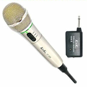 MICROPHONE WIRELESS AND WITH CABLE FOR DJ, KARAOKE, ETC FROM SPAIN