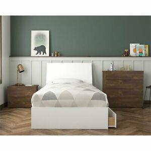 Outstanding Details About Compass 4 Piece Twin Size Bedroom Set Truffle White Download Free Architecture Designs Pendunizatbritishbridgeorg