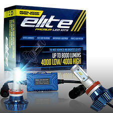 LED Car Headlight Kit with Elite CREE H11 (H9) 7600 Lumens Replace: H16 OSRAM