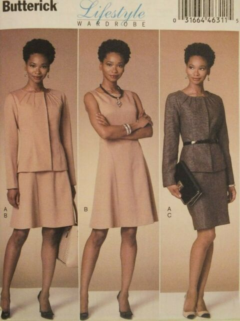Dress and Skirt   Sewing Pattern Butterick 6257 Misses/'//Miss Petite Jacket