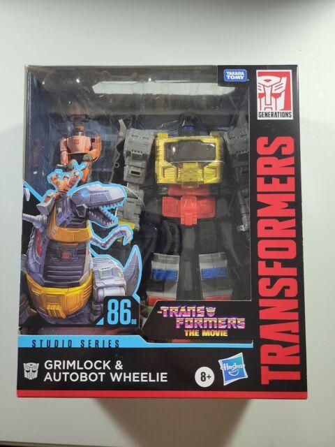 Hasbro Transformers 86-06 Grimlock and Autobot Wheelie