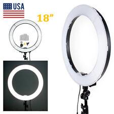 "LED SMD 18"" Ring Light Dimmable 5500K 240PCS LED Lighting Video Light Stand Kit"
