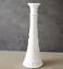 "thumbnail 4 - Set of 2 Vintage Anchor Hocking 1071 Pressed White Milk Glass Bud Vase 9"""